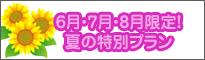6月・7月・8月限定プラン